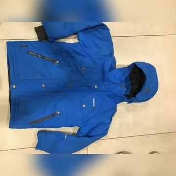 Niebieska, narciarska kurtka DIDRIKSONS -140 cm