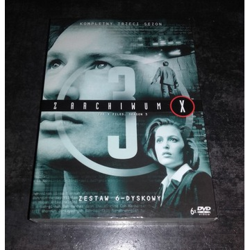 Z Archiwum X Sezon 3 DVD Lektor PL