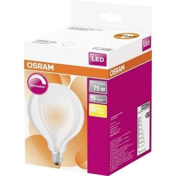 Żarówka LED OSRAM  GLOBE 75 FR 8.5 W/827 E27