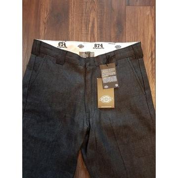 Hit! Nowe spodnie jeansy Dickies 34/30 streetwear