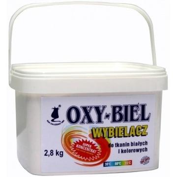 Wybielacz tlenowy OXY-BIEL 2,8 kg * Produkt Polski