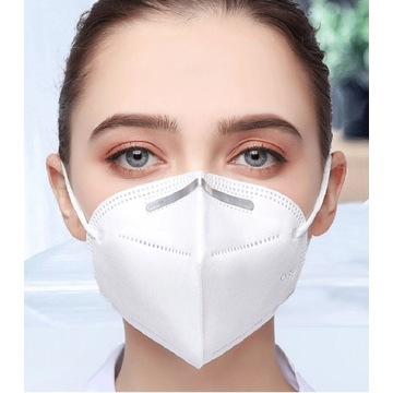 5 warstwowe maski z filtrem FPP2  10 szt maseczka