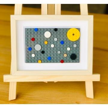 """LEGO_obraz """"Kosmos""""_wyjątkowy prezent"""