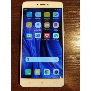 Xiaomi Note 4X, kolor łososiowy, działa, gratisy
