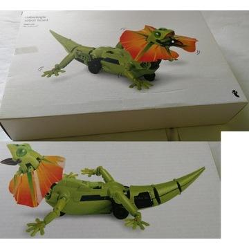 ogromny robot jaszczurka zrób to sam na baterie PL