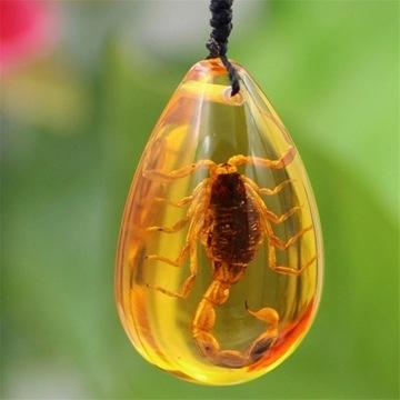 Naszyjnik prawdziwy skorpion znak zodiaku od 1zł