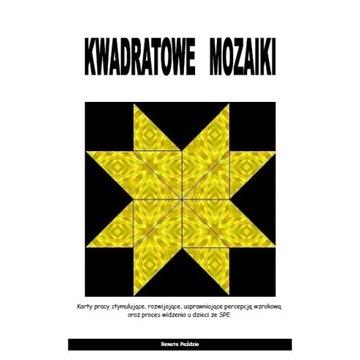 Kwadratowe mozaiki-percepcja wzrokowa