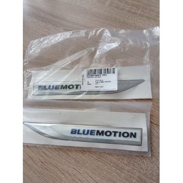 510853688 bluemotion emblemat VW błotnik