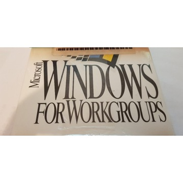 WINDOWS for WORKGROUPS kolekcja
