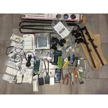 Duży zestaw narzędzi,akcesoria do telefonów i domu