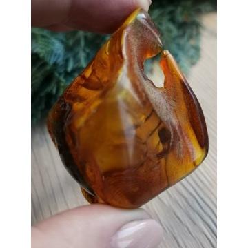 Bryłka bursztynu bałtyckiego piękna 25 gram