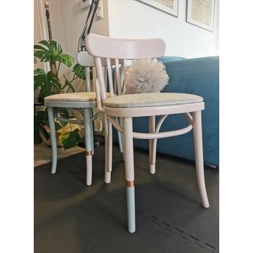 2szt. Krzesła po renowacji, retro,vintage, PRL RL