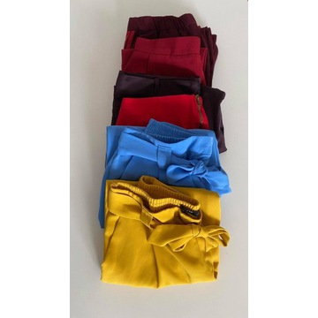 6 par spodni z materiału M/L