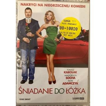 FILM ŚNIADANIE  DO ŁÓŻKA VIDEO CD