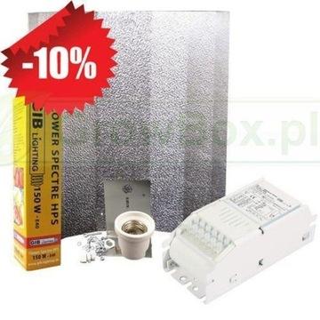 Zestaw oświetleniowy HPS 150W Autoflowering grow