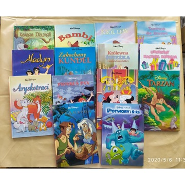 Książki dla dzieci Walt Disney's