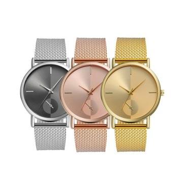 Elegancki zegarek na rękę minimalistyczny