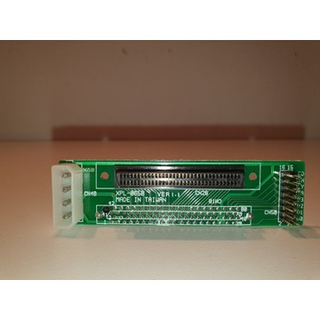 Adapter SCSI SCA80 na HD68  - SCSI  UW unikat!!!
