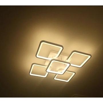 LAMPA LED SUFITOWA PLAFON ŻYRANDOL pilot/app