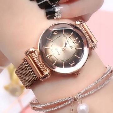 Zegarek damski nieprzecięty desing Licytacja