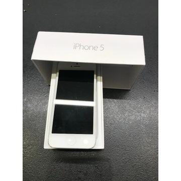 iPhone 5 White 16 GB stan nie działa, wizualnie OK
