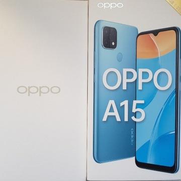 Smartfon OPPO A15 2/32GB zestaw etui
