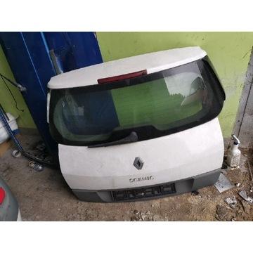 Renault Scenic II klapa z szyba zderzak grand