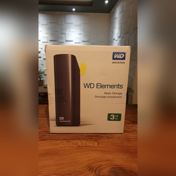 Dysk Zewnętrzny WD Elements 3TB USB 3.0