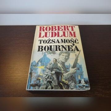 """Tożsamość Bourne'a"" Robert Ludlum"