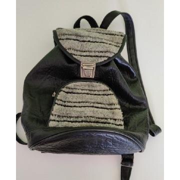 Old-schoolowy plecak, torebka na ramię