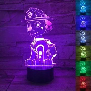 LAMPKA LED 3D * różne wzory