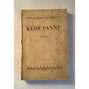 Kłos Panny, Ludwik Hieronim Morstin, 1929