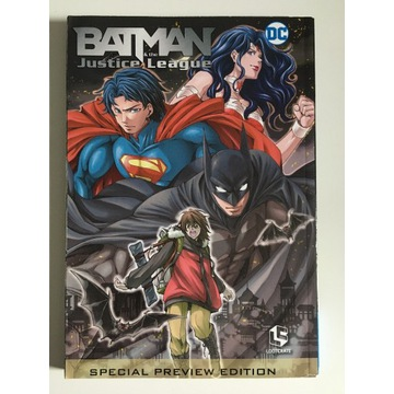 Batman & the Justice League Special Preview Manga