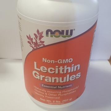 NOW, granulki lecytynynie modyfikowane genetycznie