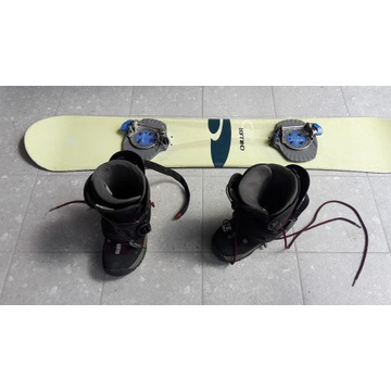 Deska snowboardowa CHILLER + osprzęt Rossignol