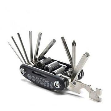 Zestaw kluczy rowerowych - 16w1 MULTITOOL imbusy