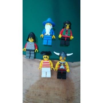 Lego figurki Castle Pirates System Vikings mix 1