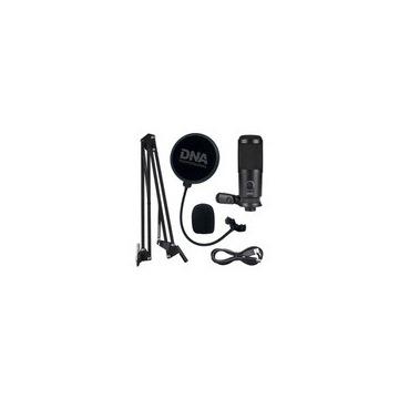 MIKROFON POJEMNOŚCIOWY STUDYJNY GAMER USB POPFILTR
