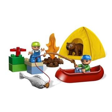 -= LEGO DUPLO 5654 - WYCIECZKA NA RYBY =-