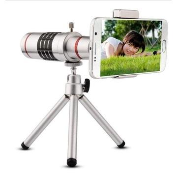 Optyczny Teleobiektyw 18x HD Zoom-X Ze Statywem