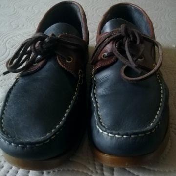 Quayside buty mokasyny skórzane r. 46