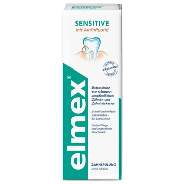 Elmex Sensitive płyn płukania ust aminofluorkiem
