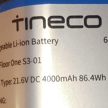 Tineco Floor One S3 nowy akumulator 4 Ah 6INR22/71