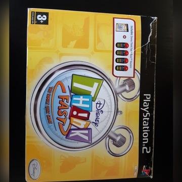 Disney Think Fast Buzz + BUZZERY PS2