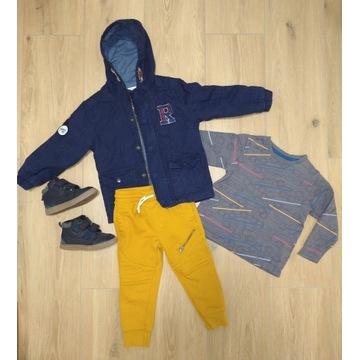 Wiosna 92 zestaw ubranek buty 24 kurtka spodnie