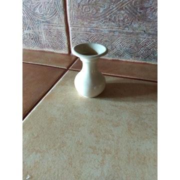 flakonik ceramiczny kremowy mały