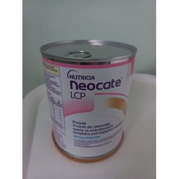 Neocate LCP 400g  nowe do 11.2022