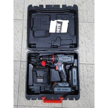 Wiertarko-wkrętarka 2x18V, 1,5Ah, GRAPHITE 58G225