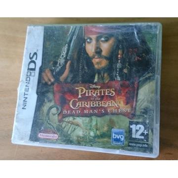 Pirates of the Caribbean - gra Nintendo DS - BOX