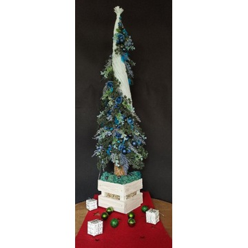 Choinka, rękodzieło, Boże Narodzenie, dekoracja